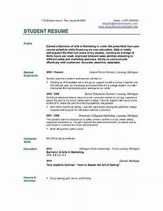 student resume templates easyjob