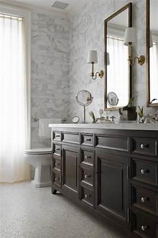 Bathroom Ideas Brown Vanity by Chocolate Brown Vanity Transitional Bathroom