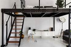 lit mezzanine design lit mezzanine deux places fonctionalit 233 et variantes cr 233 atives lit mezzanine 2 places