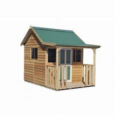 elevated cubby house plans cedar shed industries 1 8 x 2 55 x 2 3m elevated 300mm