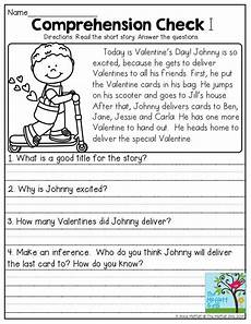 poetry comprehension exercises with answers 25540 february filled learning reading comprehension worksheets reading comprehension passages