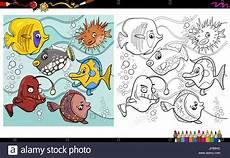 malvorlagen unterwasser tiere lustig kinder zeichnen und