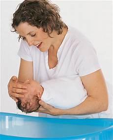 Washing Newborn Hair