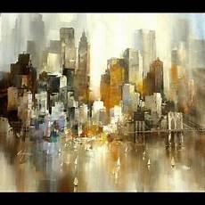peinture tableau moderne tableau peinture moderne new york watercolor en 2019