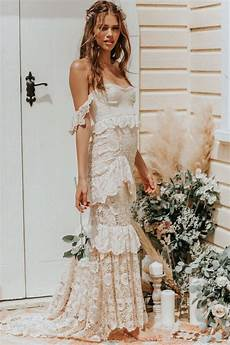 The Most Dreamiest Boho Wedding Dresses You Just To See