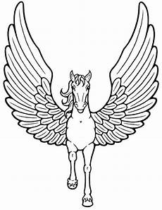 Malvorlagen Wings Unicorn Unicorn With Wings Flying Coloring Pages Coloring Pages