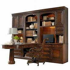 hamilton home european renaissance ii office wall unit