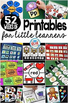 52 hands on activities for the every week of the year 52 weeks of printables for little learners