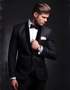 costume mariage noir