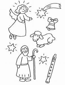 ausmalbild weihnachten weihnachtsfiguren kostenlos ausdrucken