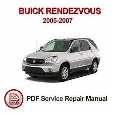 auto repair manual free download 2006 buick rendezvous electronic valve timing buick rendezvous repair manual ebay