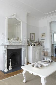 make a white living room chic how to welcome shabby chic decor in your home interior