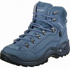 lowa renegade gtx mid w hiking shoes blue