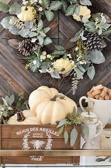 Home Decor Ideas For Fall by Diy Home Decor Fall Home Tour