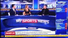 Sky Sport News Live - sky sports news german reporter swears live on tv 07 03
