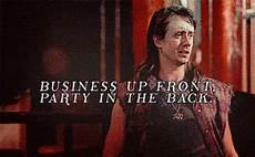business up front party in the back gifs find share on