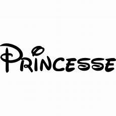 Sticker Citation Quot Princesse Quot Disney Color Stickers