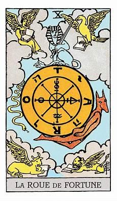 Tarot Karte Liebe - la roue de la fortune dans le tarot signification