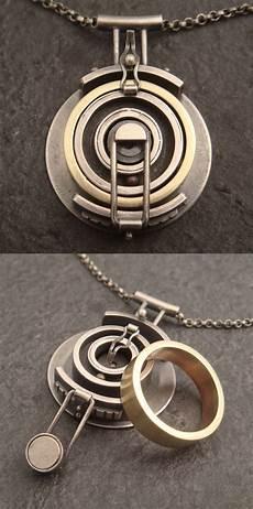 wedding ring holding pendant jewelry necklaces ausgefallener metallschmuck