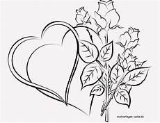 Ausmalbild Blumen Herz Malvorlage F 252 R Erwachsene Herzen Und Ausmalbilder