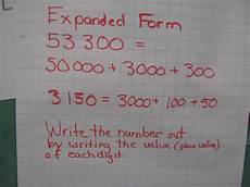 math expanded form representing numbers mr wendler s class 2011 2012