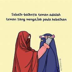 Gambar Muslimah Kartun Cantik Dari Belakang Gallery