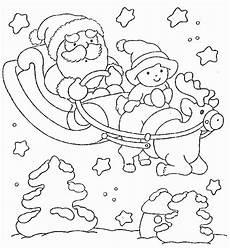 Malvorlagen Weihnachtsmann Text Weihnachten Schlitten Ausmalbilder Animaatjes De