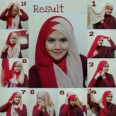 Tutorial Segi Empat Alyssa Soebandono Ragam Muslim