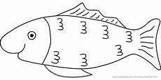 Malvorlage Fisch Einfach Ausmalbilder Fische