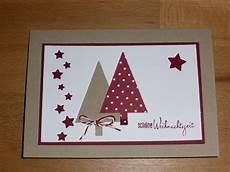 weihnachtskarte selbst gemacht tannenb 228 ume selbst