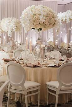 all white glamour in california wedding wedding table