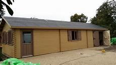Garage En Bois 50m2 Maison Fran 231 Ois Fabie