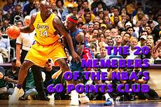 The 20 Members Of The Nba S 60 Points Club Total Pro Sports