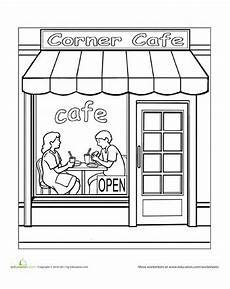 places coloring pages 18026 paint the town cafe cross coloring page coloring pages coloring books