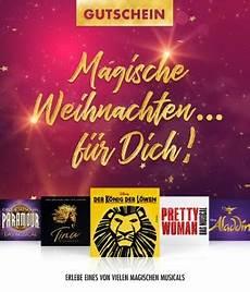 Gutscheine F 252 R Musicals Und Shows Stage Entertainment