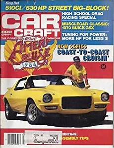 books about cars and how they work 1986 ford aerostar regenerative braking car craft magazine january 1986 ameri cruise 1986 630 hp street big block jeff smith