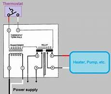 heat relay wire diagram wiring how can i connect a wifi thermostat to a honeywell r845a switching relay home