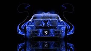 Dodge Charger SRT Back Fire Abstract Car 2014  El Tony