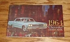 old cars and repair manuals free 1964 chevrolet corvette navigation system 1964 chevrolet passenger car owners operators manual 64 chevy ebay