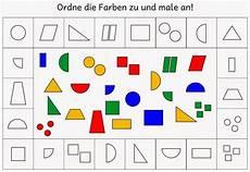 farben zuordnen und anmalen 1 spielerisches lernen