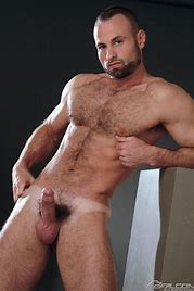 Hairy hung nude men