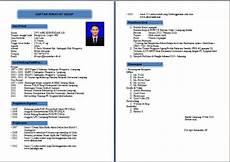contoh resume bahasa indonesia dan inggris contoh cv dalam bahasa inggris yang lengkap