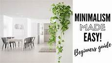 Minimalistisch Wohnen Tipps - how to be a minimalist minimalism tips simple living