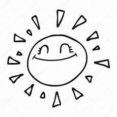 sonne comic schwarz weiß im 225 genes sol blanco y negro sol feliz de dibujos