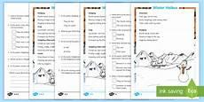winter worksheets ks1 20027 ks1 winter haikus differentiated worksheet worksheet worksheet