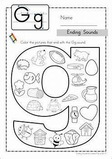 alphabet worksheets for middle school 18196 ending sounds preschool palooza phonics worksheets abc phonics kindergarten reading