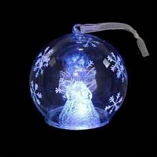 boule de noel lumineuse boule de no 235 l lumineuse ange mich 232 le boule et d 233 co de