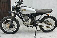 Klx Modif Enduro by Kawasaki Klx Scrambler 1stmotorxstyle Org