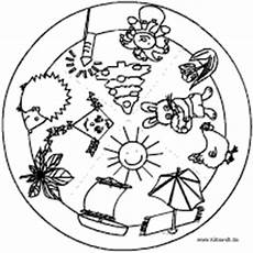 mandalas rund um den fr 252 hling im kidsweb de