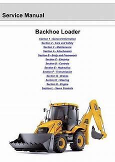 jcb 3cx 4cx backhoe loader service manual 9803 3290 16
